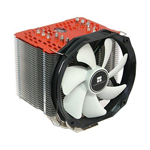 Thermalright ARO-M14 Orange AMD Ryzen CPU-Kühler, 6 x 6mm Heatpipes, TY 147A PWM Lüfter (300-1.300 U/min, 15-21 dBa, 28,7-125 m³/h), Chill Factor Wärmeleitpaste voraufgetragen, orange