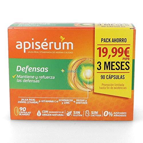 APISERUM - Cápsulas Defensas Pack Ahorro
