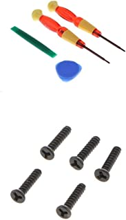 Prettyia 4 in 1 Tri-Wing Screwdrivers Kit + Opening Pry Tool + Tri-Point Screws Repair Opening Tools for Nintendo Switch C...