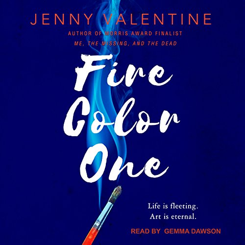 Fire Color One audiobook cover art