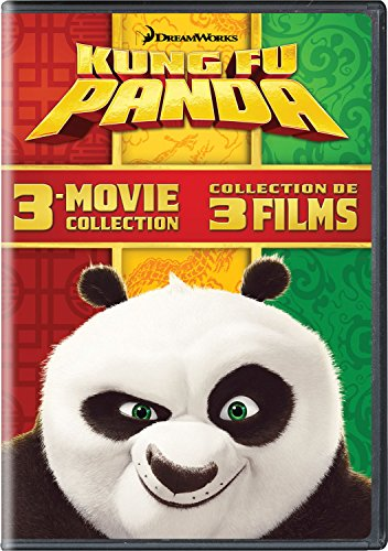 Kung Fu Panda / Kung Fu Panda 2 / Kung Fu Panda 3 (3-Movie Collection)