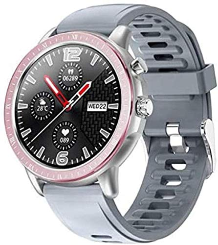Reloj Inteligente Mujeres Hombres Monitoreo De Ritmo Cardíaco IP67 Impermeable Fitness Tracker 1 3 pulgadas Full Round Screen Band-A-B