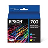 EPSON T702 DURABrite Ultra Ink Standard Capacity Color Combo Pack (T702520-S) for select Epson WorkForce Pro Printers
