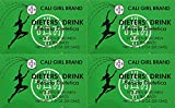 Dieter's Drink Cali Girl Brand for Men and Woman NT WT 1.0oz - SET OF 4