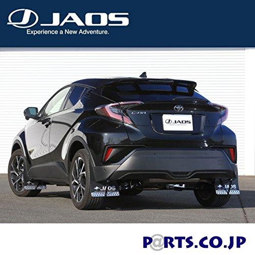 JAOS マッドガード3 フロントセット ブラック C-HR
