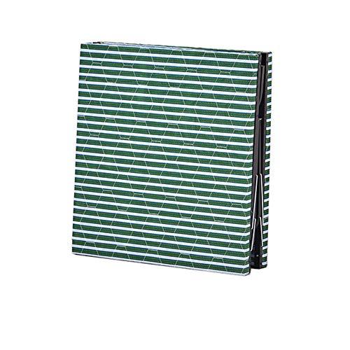 DLLzq Gästebett Klappbett, Raumsparbett Mit Verstellbarem Kopfteil Incl,Greenstripe(80cmwide)