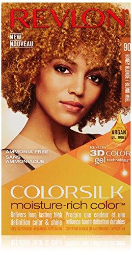 Revlon Colorsilk Moisture Rich Hair Color, Honey Blonde No. 90, 1 Count