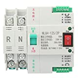 Interruptor de transferencia automático, AC 230V 2P 63/80/100A Interruptor de palanca de transferencia automática de doble potencia, operación simple, rendimiento confiable(100A)