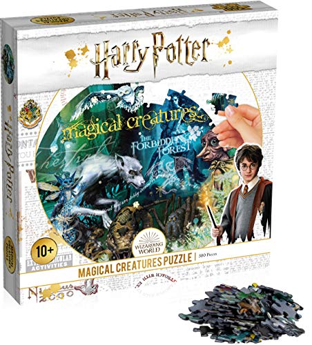 Winning Moves Puzzle Harry Potter Magische Tierwesen Kreaturen Magical Creatures 500 Teile