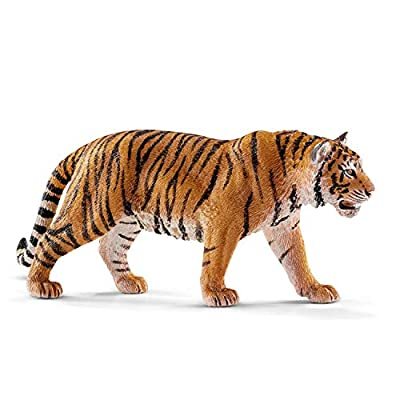 SCHLEICH Wild Life Tiger Educational Figurine for Kids Ages 3-8