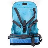 Sitzerhöhung Kinder Baby Reisesitz Boostersitz Tragbar Essen Sitz Blau IN