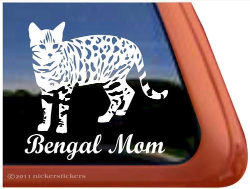 Bengal Mom Cat Vinyl...