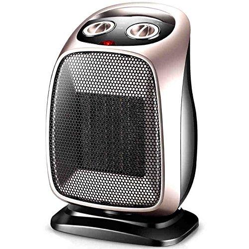 HAIZHEN Radiateur électrique Réchauffeur PTC Ceramic Heating Portable 1500 W Or noir Économie d'énergie (Couleur : Or)