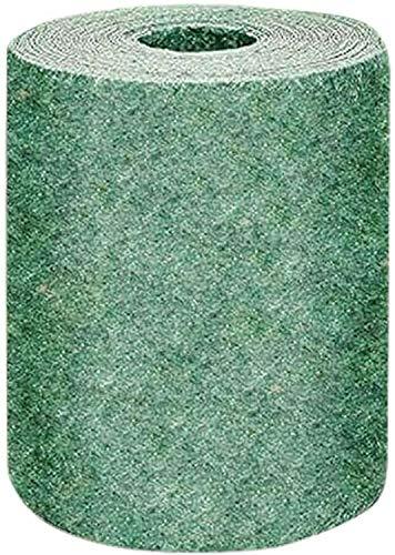 JKKJ Biologisch abbaubare Rasensamen-Matte, Garten-Rasen-Pflanzmatte für Saatschalen, Gewächshäuser, Topfpflanzen, Ernte, Gemüse, Obst und Hängekörbe, 20 x 300 cm