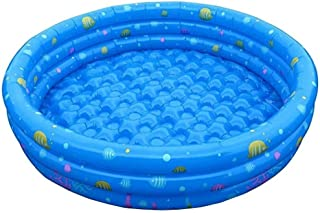 Piscina LCSD inflable Piscina Inflable, Piscina Inflable Redonda Al Aire Libre, Piscina De Bolas For Niños Bebés Y Niños Pequeños, Al Aire Libre Del Patio Trasero Del Verano Espesó Borde Niños Inflabl