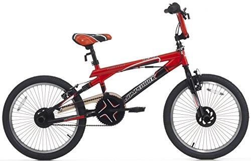 Cicli Cinzia Bicicletta 20 BMX Acciaio Jetix Nero/Rosso ferr 2157