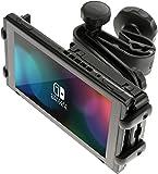 honju GAME Supporto poggiatesta da auto per Nintendo Switch (Made in Germany) compatibile anche per Apple iPad Pro 11, Apple iPad Air 2019 e altri tablet fino a 11,5 pollici