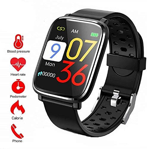 Fitness Tracker, Activity Tracker con schermo a colori da 1,3'Smart Watch impermeabile IP67 con cardiofrequenzimetro Sleep Monitor Contapassi per donne Uomini Bambini-S-BY7