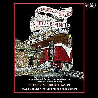 The Extraordinary Education of Nicholas Benedict audiobook cover art
