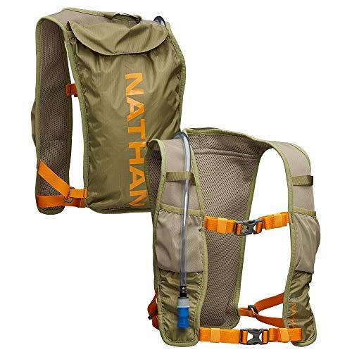 Nathan QuickStart Lite. Running Vest/Hydration Pack. 3L Storage with 1.5L (1.5 Liter) Bladder Included. for Men and Women OSFM Adjustable Straps. Phone Holder Pockets, Zippers