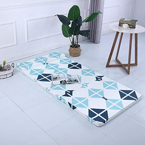 Zlzty eenpersoonsbed met topper van memory-schuim, onze producten bevatten één matras van tatami en geen andere inhoud.