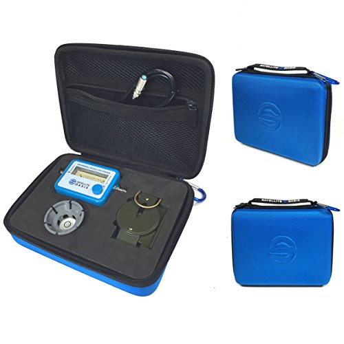 Satellite Finder Meter Kit in Hardshell Case