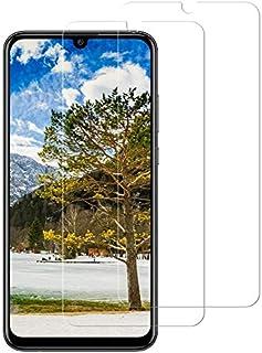 CNXUS skärmskydd för Huawei P Smart 2019[2-pack] Huawei P Smart 2019 härdat glas, anti-fingeravtryck, kristallklar bubbelf...
