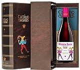 CAMINO DE CABRAS Estuche de vino - Mencía - vino tinto – D.O. Ribeira Sacra – Producto Gourmet - Vino bueno para regalar - Vino Premium - 1 botella x 75cl