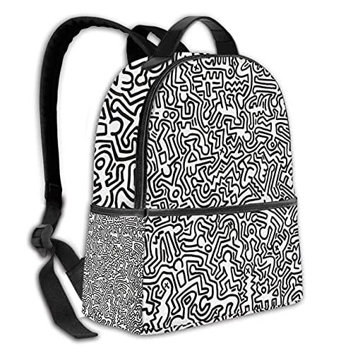 BYTKMFD Mochila duradera sin título, mochila de viaje para niños y mujeres, Untitled2, Talla única