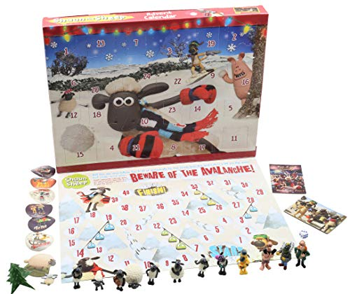 SHAUN THE SHEEP Calendario de Adviento para Niños Wallace
