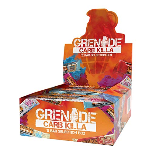 Grenade Carb Killa High Protein and Low Carb Barra - Selection Box - 12 Unidades