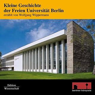 Kleine Geschichte der Freien Universität Berlin Titelbild