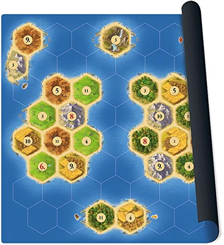 999 Games spel Catan playmat Islands