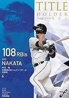 BBM ベースボールカード TH05 打点王 中田 翔 (日) (レギュラーカード/タイトルホルダー) FUSION 2020