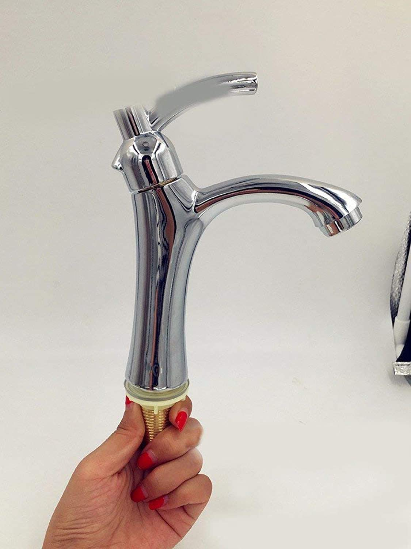 Oudan Single Hole Washbasin Stainless Steel Single Handle Sink Faucet