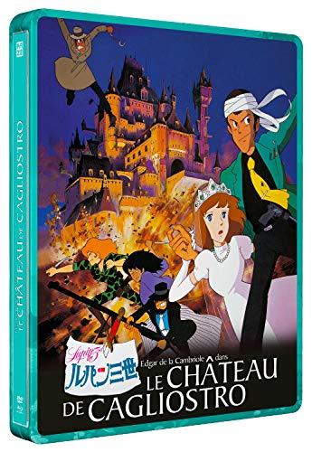 Le château de Cagliostro-Le Film [Blu-Ray + DVD-Édition boîtier SteelBook]