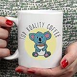 N\A Top Koality Coffee [Idea Regalo Simpatica Tazza Koala