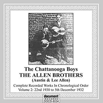 The Allen Brothers Vol 2 (1930-1932)
