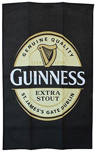 Guinness étiquette coton serviette de thé 106010595799, 100 % coton, Taille unique