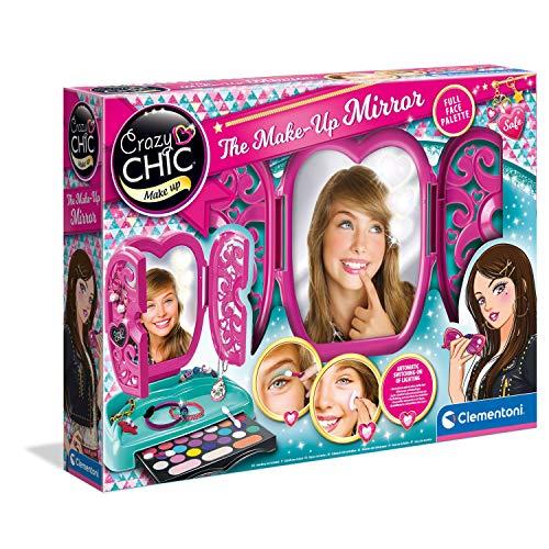 LED Schminktisch mit Schminke - ab 6 Jahren - Kinderschminke Kosmetikset für Kinder Kosmetik - Make...