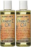 Pack of 2 Trader Joe's Vitamin Oil E 4oz each