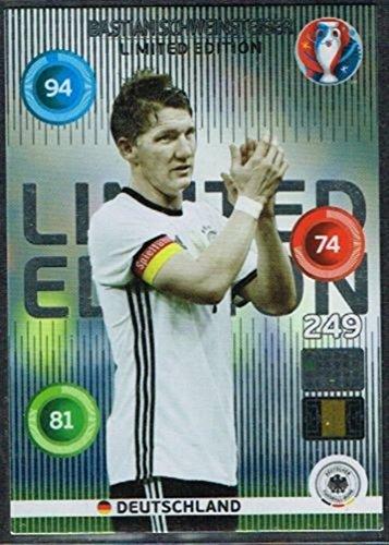 Panini Adrenalyn XL UEFA Euro 2016Bastian Schweinsteiger Limited Edition Card