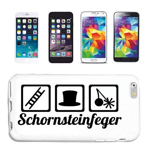 Bandenmarkt telefoonhoes compatibel met iPhone 4 / 4S schoorsteenveger open haard schoorsteen gulpmiddel hardcase beschermhoes mobiele telefoon cover Smart Cover