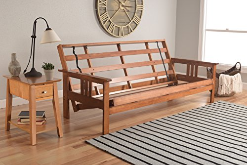 Learn More About Kodiak Futons Monterey Futon Frame, No Drawers, Barbados