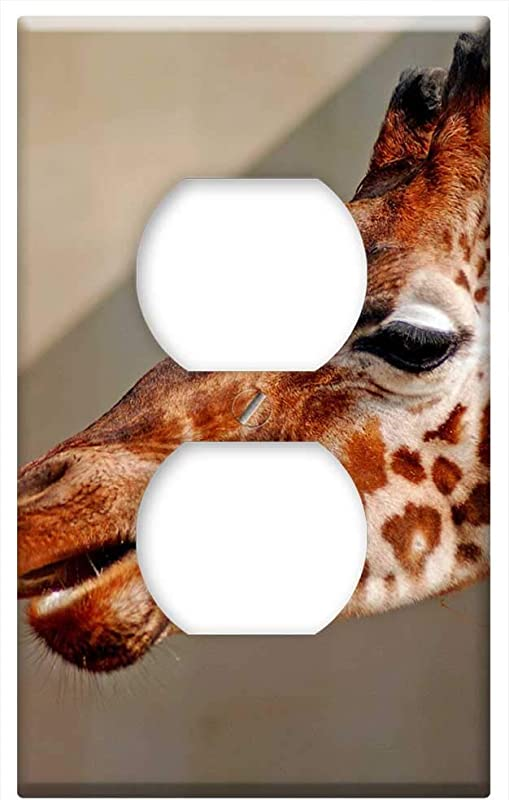 Switch Plate Outlet Cover Giraffe Animal Wild Zoo Safari Zoo Animals Nose 1