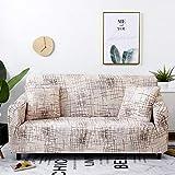 Fundas de sofá elásticas para sofá a Cuadros elásticos para Sala de Estar, Funda para sofá, Silla, Funda para sofá, decoración del hogar A11, 4 plazas