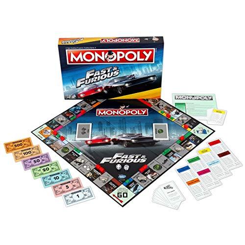 Winning Moves Monopoly-Brettspiele, Special Edition TV & Film (evtl. Nicht in Deutscher Sprache)