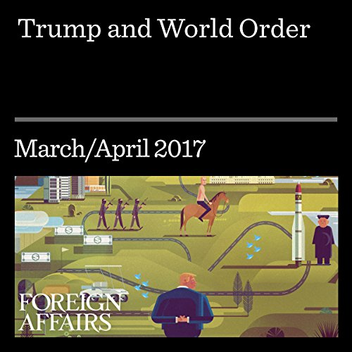 Trump and World Order audiobook cover art