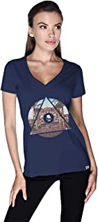 Creo Abu Dhabi T-Shirt For Women - S, Navy