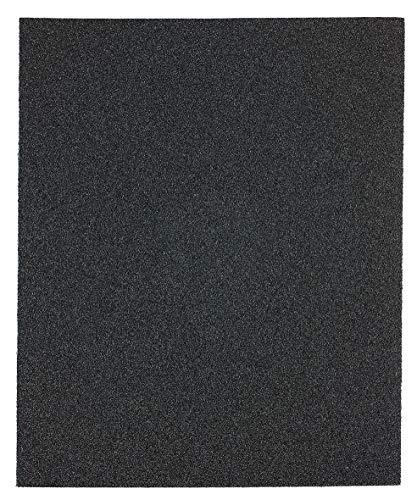 kwb 820418 hochwertiges Schleif-Papier Schleif-Bogen Blauköper für Metall und Stahl, zum Entfernen von Rost, Zunder, Harz-Lacken u. v. m. 230 x 280 mm, verschweißt 5 Stk. Korn K-180, Made in Europe